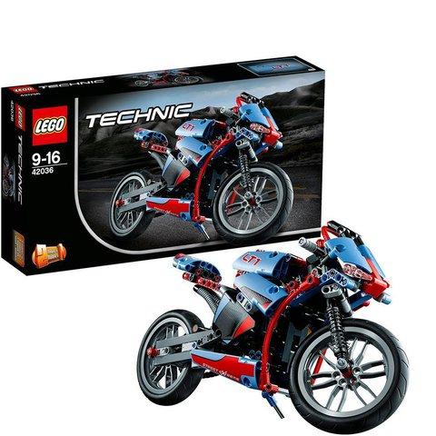 LEGO Technic: Спортбайк 42036 — Street Motorcycle — Лего Техник