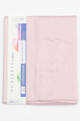 Пододеяльник 200x200 Caleffi Raso Tinta Unito сатин нежно-розовый