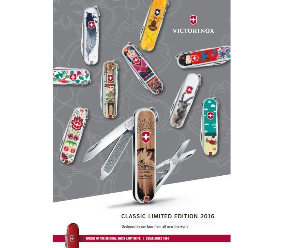 """Victorinox Classic LE 2016 """"Light as a Feather"""" (0.6223.L1605)"""