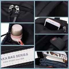 Рюкзак повседневный для города KAKA 2206 цветные полоски