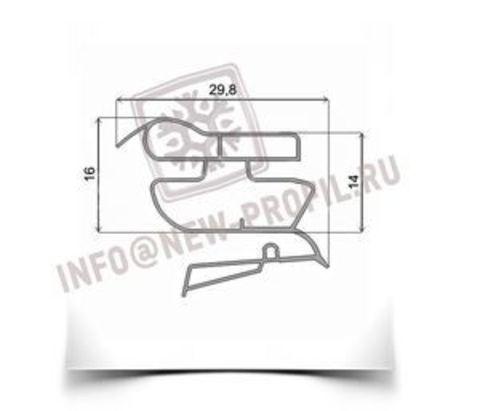 Уплотнитель 117,5*57 см  для холодильника Candy Soft Line ССD350SL (холодильная камера) Профиль 022