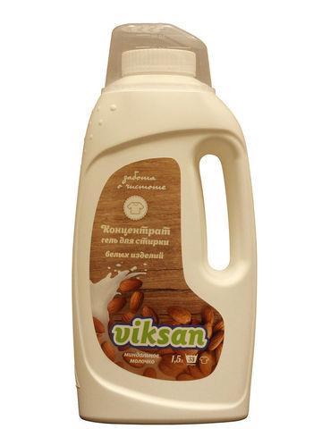 Aquasun Viksan Концентрат для белых изделий «Миндальное молочко» 1500 мл