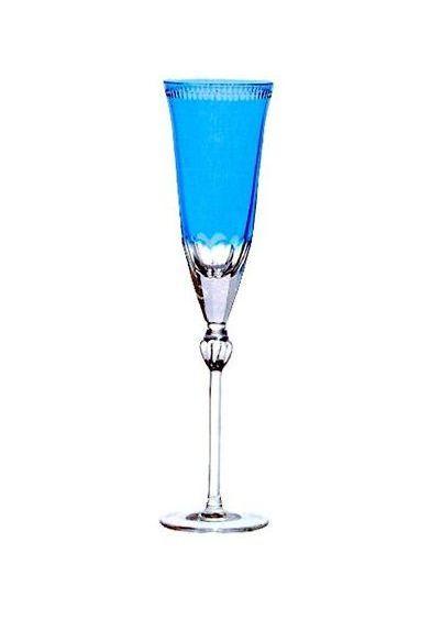 Фужер для шампанского 170мл Ajka Crystal Heaven Blue