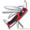 Нож Victorinox RangerGrip 58 Hunter 130мм 13 функций красно-чёрный (0.9683.MC)