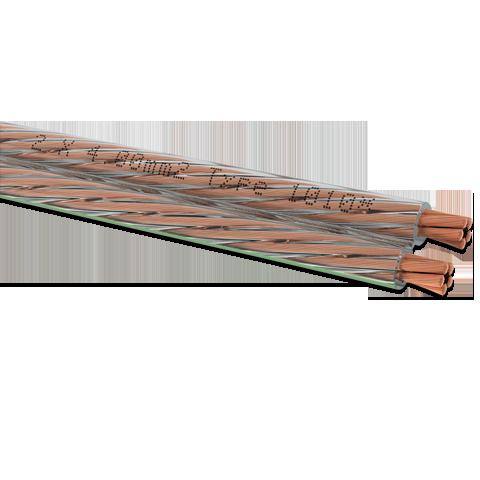 Oehlbach Speaker Cable 2x4mm white 100m, акустический кабель