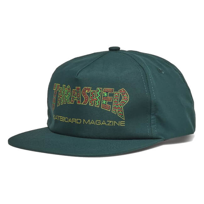 Кепка THRASHER Davis Snapback (Forest Green)