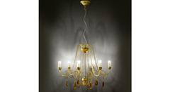 Italamp 451 6 Amber OA — Потолочный подвесной светильник