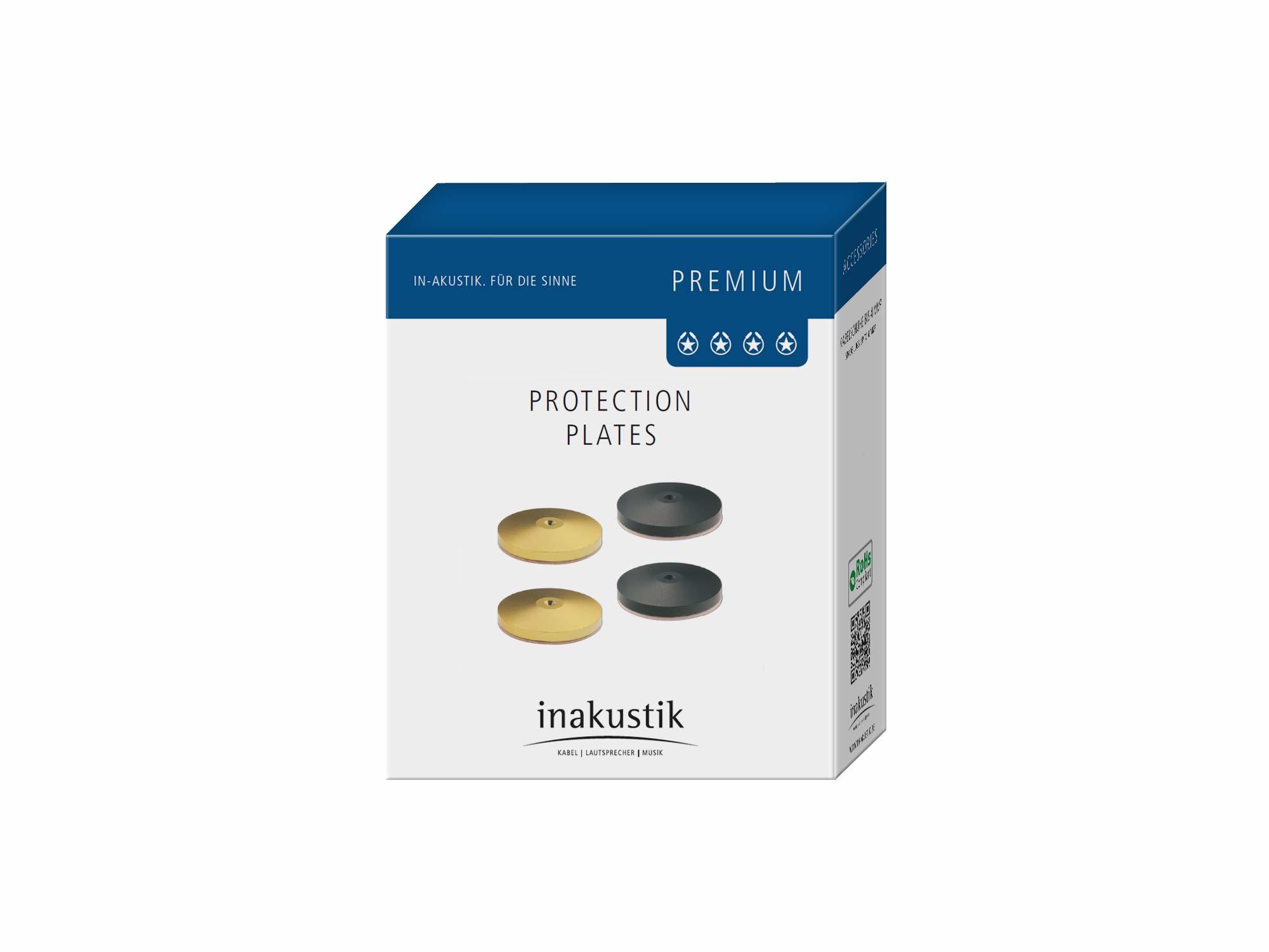 Inakustik Premium Pic, 4 pcs, golden, 30 mm, 008480
