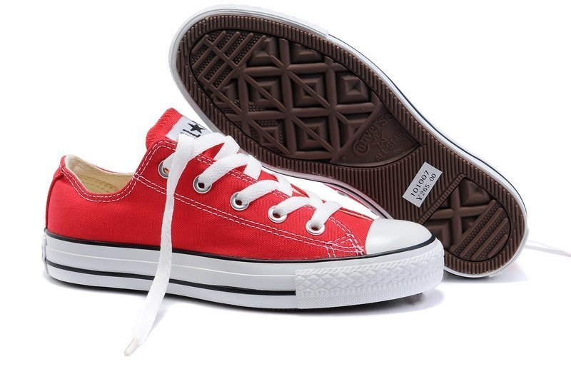 Converse Chuck Taylor All Star Low (Red)