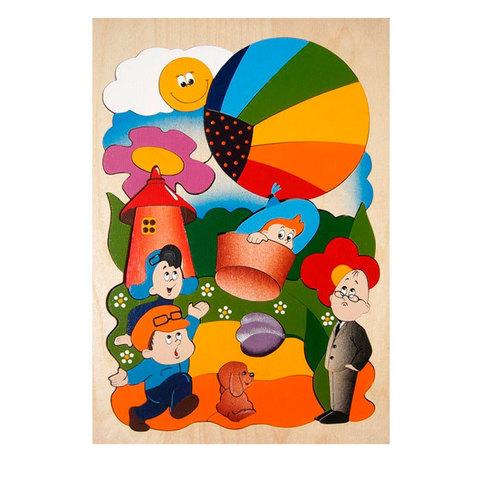 Рамка-вкладыш Незнайка на воздушном шаре, Крона 143-030