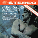 Marcel Dupre, Paul Paray, Detroit Symphony Orchestra / Saint-Saens: Symphony No. 3 (LP)