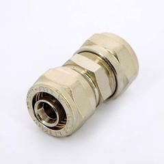 Муфта обжимная Uni-Fitt 16 мм. для металлопластиковых труб фитинг