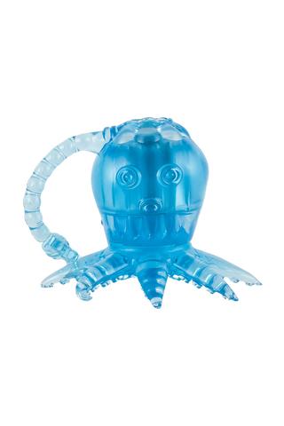 Вибростимулятор осьминог голубой