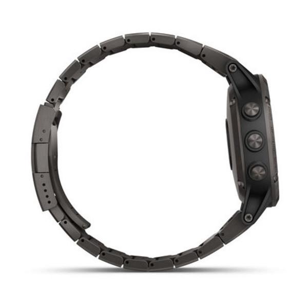 Fenix 5 Plus Sapphire титановый серый DLC с титановым DLC ремешком