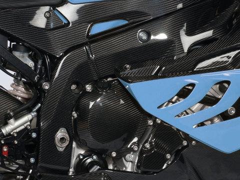 Крышка на раму BMW S 1000 RR - карбон