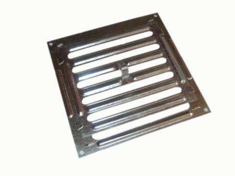Р 150 Решетка 200*200 мм, жалюзийная, металлическая