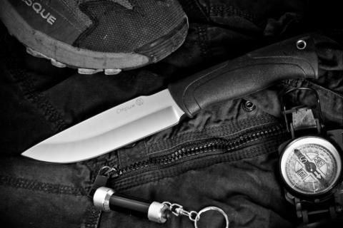 Туристический нож Стриж Полированный Эластрон z90