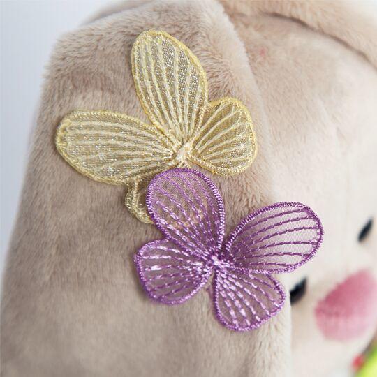 Зайка Ми в летнем платье с бабочками на ушках