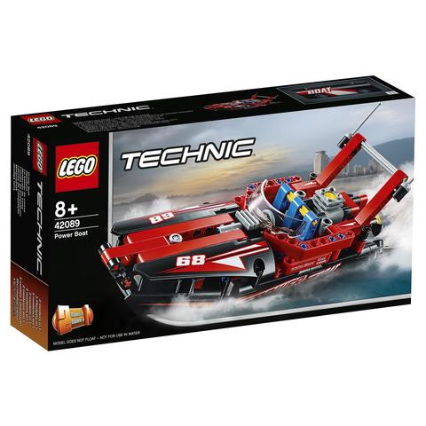 LEGO Technic: Моторная лодка 42089 — Power Boat — Лего Техник