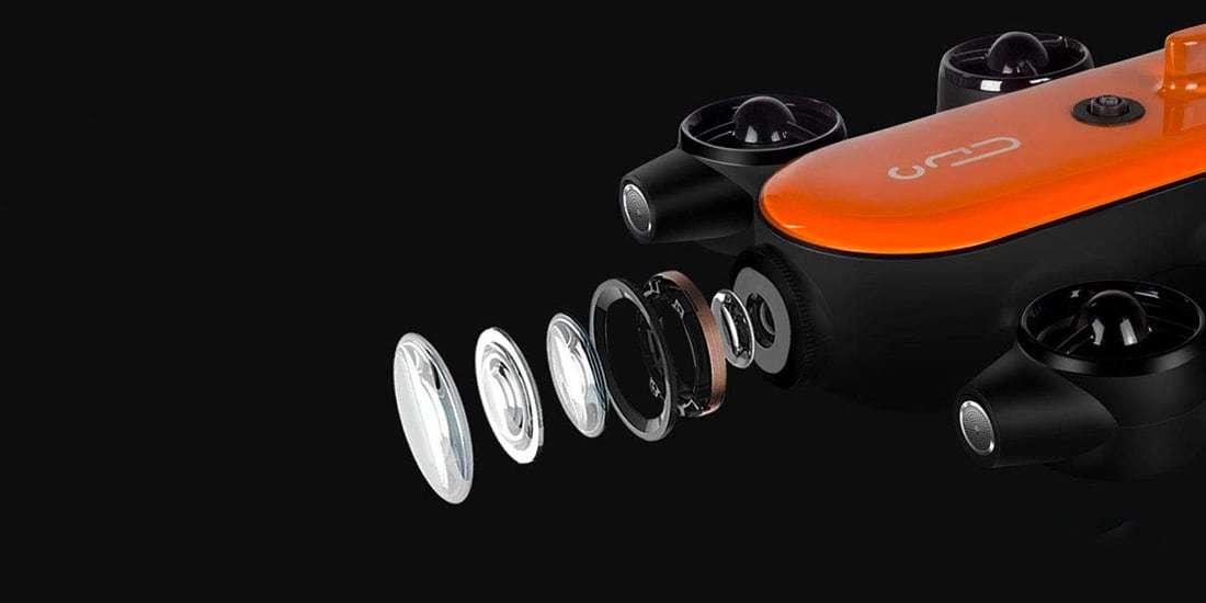 Подводный Дрон TITAN T6T-1-100BL GENEINNO 249900 оптика