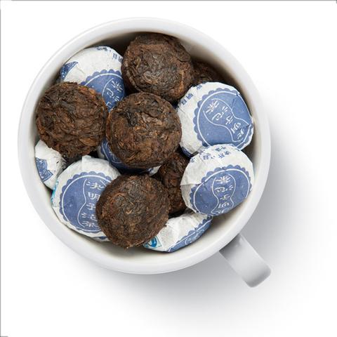 Шу пуэр прессованный миниточа с лотосом 50 гр. Чай Gutenberg китайский элитный