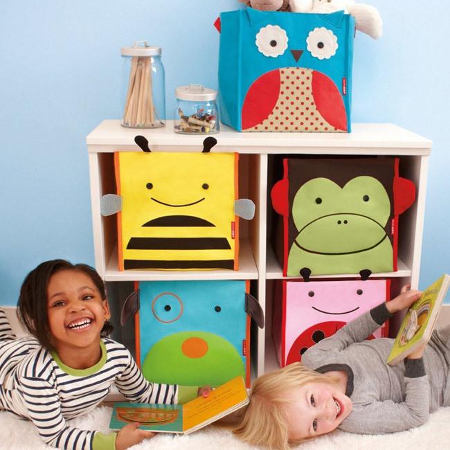 Органайзер / ящик для игрушек в стеллаже
