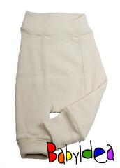 Пеленальные штанишки  длинные Babyidea Wool Longies, Натуральный (шерсть мериноса 100%)