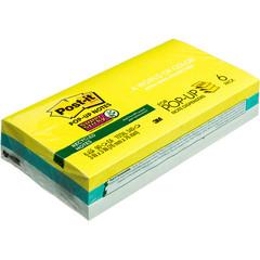 Стикеры Post-it Super Sticky Z-блок R330-6SST эко-тропик 6бл по 90л.