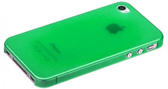 Чехол пластиковый для iPhone 4 / 4S накладка Ensi ЗЕЛЕНЫЙ
