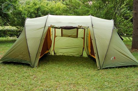палатка кемпинговая Alexika INDIANA 4 green, 460x240x180