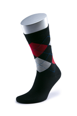 Комплект из 5 пар цветных носков CL 08/096 размер 49-52 больших размеров марки Делфино