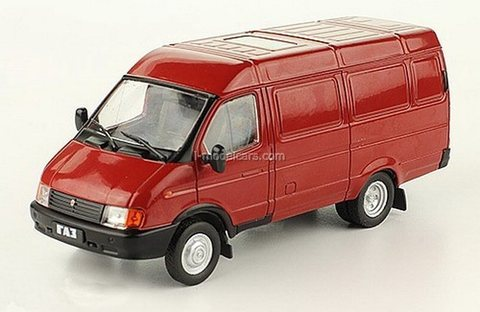 GAZ-2705 Gazelle van red 1:43 DeAgostini Auto Legends USSR #251