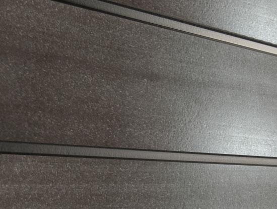 Профиль ДПК для заборов - SW Agger глянцевый. Цвет темно-коричневый.