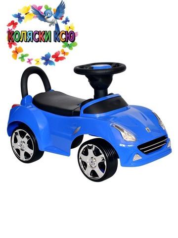 Машина-каталка Ferrari синий