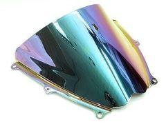 Ветровое стекло для мотоцикла Suzuki GSX-R1000 07-08 DoubleBubble Иридий