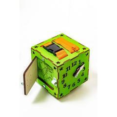 Easy Time Развивающий БизиКуб мини (зеленый) (mz01)