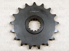 Звезда передняя (ведущая) Sunstar 41417 JTF1586 для мотоцикла Yamaha  17 зубьев