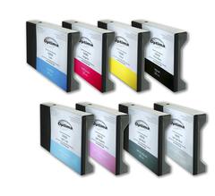 Комплект из 8 картриджей Optima для Epson 7880/9880 8x220 мл