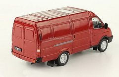 GAZ-2705 Gazelle van red 1:43 DeAgostini Auto Legends USSR #251