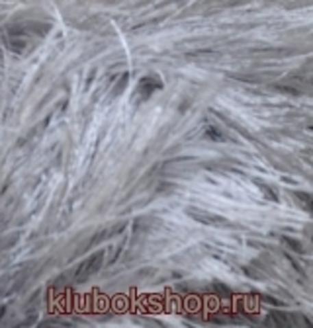Пряжа Decofur (Alize) 119 Серый, фото