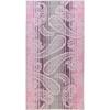 Полотенце 50x100 Cawo Noblesse 1067 Paisley розовое