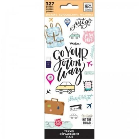 Блокнот со стикерами-MAMBI Stickers Travel-327шт