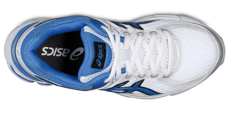 Детские беговые кроссовки для девочки Asics GT-1000 4 GS (C558N 0139) белые фото