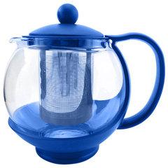Чайник заварочный 750мл AK-5506/9 синий с металлическим фильтром