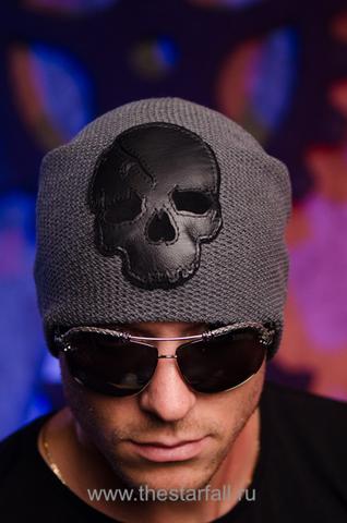 Шапка «Plentitude» от 7.17 Studio с черепом