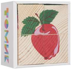 Кубики фрукты-ягоды