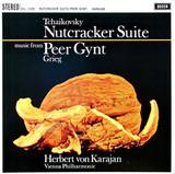 Tchaikovsky, Grieg, Herbert von Karajan, Vienna Philarmonic / Tchaikovsky: Nutcracker Suite - Grieg: Peer Gynt Music (LP)