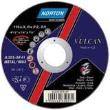 Отрезной круг NORTON VULCAN по металлу диаметр 230 мм х 2,0