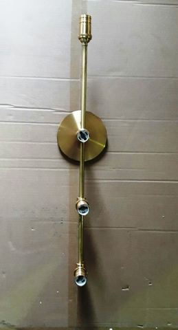 VAN  wall brass lamp by Art-metall