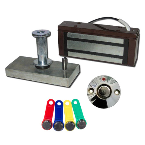 Комплект электромагнитного замка с ключами ТМ